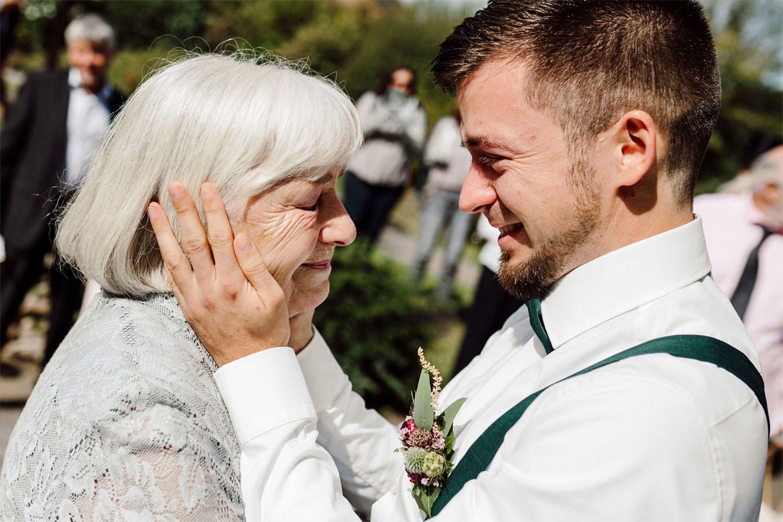Fotos von einer kleinen Hochzeit im Voshövel in Schmermbeck im engsten Kreis der Familie und Freunde